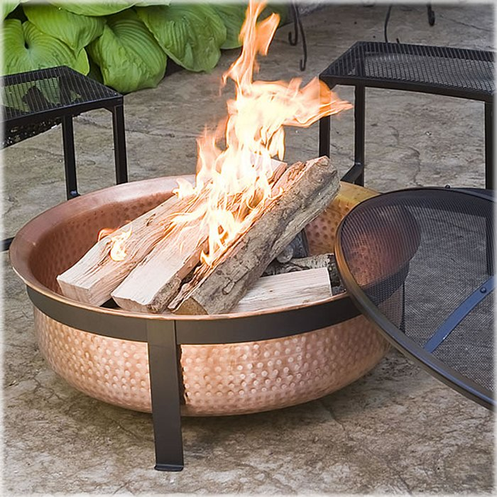 Winter Outdoor Entertaining Portable Fire Bowl